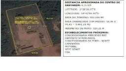Terreno 500.000m² - Rod Santarém Cuiabá