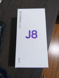 Celular samsung J8 preto