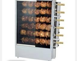 Máquina de frango capacidade 30 frangos