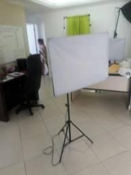 Kit profissional de iluminação foto e video