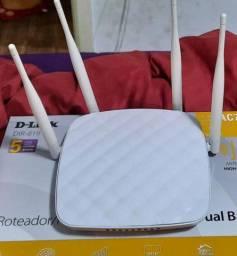Roteador 4 antena Multilaser 300 Mbps 2,2 ghz semiI novo usado