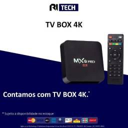 TV Box MDTV 5Ghz 4K 4Ram / 32GB / Android - Preto