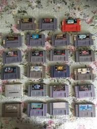 Console Super Nintendo Original + 17 Fitas
