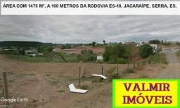 Chácara, para empresas, com 1475 m², registrada, Jacaraípe, a 30 km de Vitória