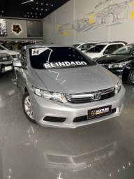 Honda CIVIC 1.8 LXS 2014 Blindado