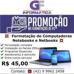 Formatação de Computadores Promoção