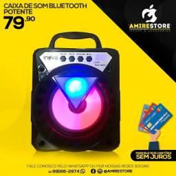 Caixinha de som bluetooth potente rad-9044