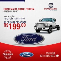 EMBLEMA DA GRADE FRONTAL ORIGINAL FORD
