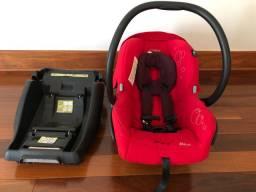 Bebê conforto Mico marca Maxi Cosi + base para veículo