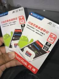 Cartão de Memória 64 GB SanDisk Original