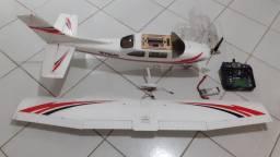Aeromodelo Elétrico completo, com rádio