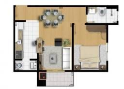 Apartamento à venda com 2 dormitórios em Orfãs, Ponta grossa cod:42097