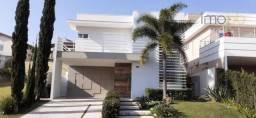 Título do anúncio: Casa com 4 dormitórios à venda, 400 m² por R$ 2.400.000,00 - Condomínio Jardim Paradiso -