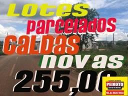 CALDAS NOVAS-GO // LOTE A PRESTAÇÃO SEM CONSULTA AO SPC/SERASA