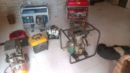 Título do anúncio: Geradores,compressor bomba d'água DIESEL GASOLINA E ELÉTRICA