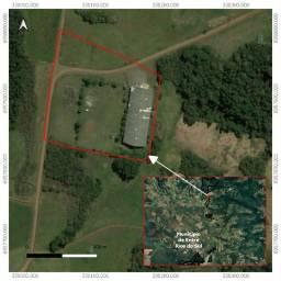 Título do anúncio: Galpão em estrutura metálica com 1743 m² sobre área de 2,1 ha