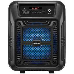Título do anúncio: Caixa de som com controle remoto Lenoxx
