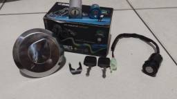 vendo Kit Chave Ignição Titan 125 2002 / 2008 Mesma Chave Pra Tudo<br><br>