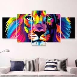 Título do anúncio: Quadro Leão de Judá