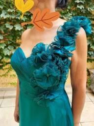 Vestido social de luxo