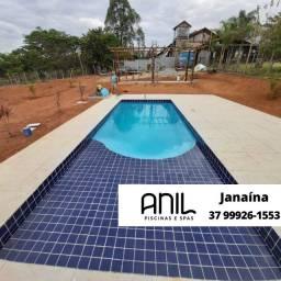 Título do anúncio: JA - Piscina de fibra 6 metros - Fábrica #AnilPiscinas#