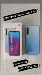 Vende-se Xiaomi note 8 64g