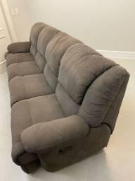 Sofá reclinável - 4 módulos - cinema - home teather 2,80M