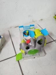 Vendo estação de Trash Wheels fuga do esgoto