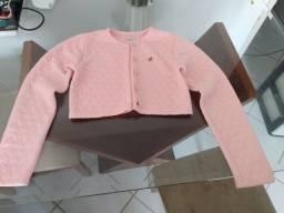 Casaco rosa Bebê BUGBEE TAM 14