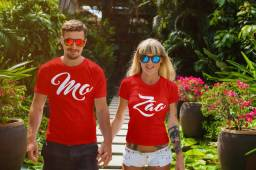Kit 2 Camisas Casal - Entrega Grátis