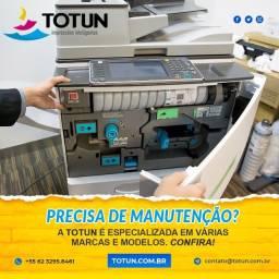 Venda Locação e Manutenção de Impressoras e Copiadoras