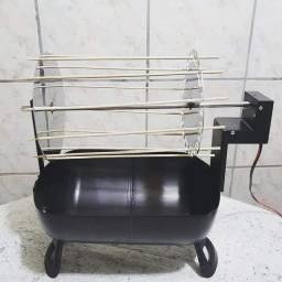 Título do anúncio: Mini churrasqueira elétrica