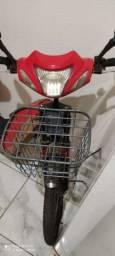 Bicicleta elétrica usada