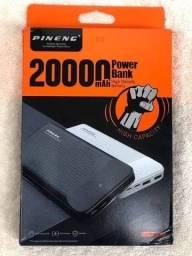 Carregador portátil Power bank pinneng 20.000mah