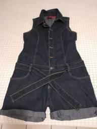 Título do anúncio: Lindo macacão jeans