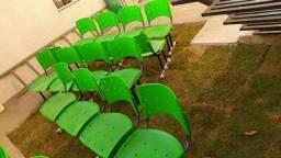 Longarinas cadeiras recepção