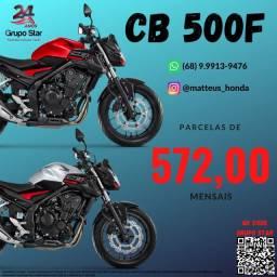 Título do anúncio: Motocicleta Cb 500F