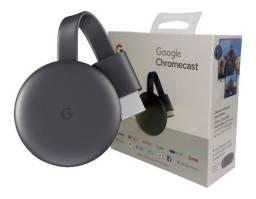 Chromecast 3 Google Full HD com Wi-Fi/HDMI