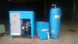 Título do anúncio: Compressor parafuso 50cv PUMA - Impecável