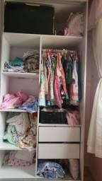 Título do anúncio: Guarda-roupa, bicama, cômoda e poltrona
