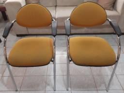 Título do anúncio: Cadeiras (fixas) para escritório.