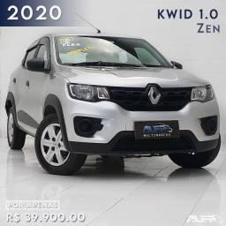Título do anúncio: Renault - Kwid Zen Flex / 2020  Completo !! Financiamento Sem Entrada