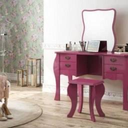 Título do anúncio: Penteadera rosa
