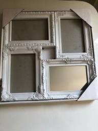 Porta retrato com espelho