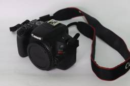 Título do anúncio: Câmera Canon SL2 + lente 18-55mm completa