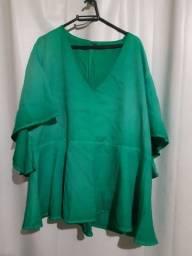 Blusa verde tam gg