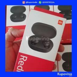Fone de Ouvido Xiaomi Redmi AirDots 2 Bluetooth 5.0 + Original + Garantia