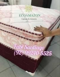 Título do anúncio: Cama molas ENSACADAS __//### a pronta entrega