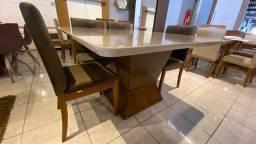 Título do anúncio: Mesa quadrada de 6 lugares pintura laka e madeira maciça