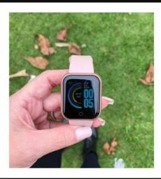 Título do anúncio: O smartwatch Y68 D20 rosa ? 70 reais  contato ; * WhatsApp